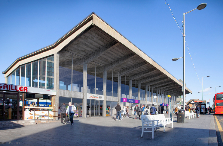 Hidden London: Barking station revamp CGI