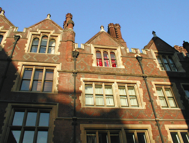 Hidden London: Lincoln's Inn chambers on the west side of Chancery Lane
