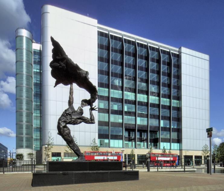 Hidden London: Stylish office blocks and sculpture at the corner of Saffron Avenue and Nutmeg Lane