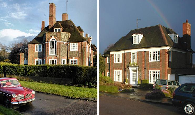 Hidden London: two neo-Georgian houses in Hampstead Garden Suburb