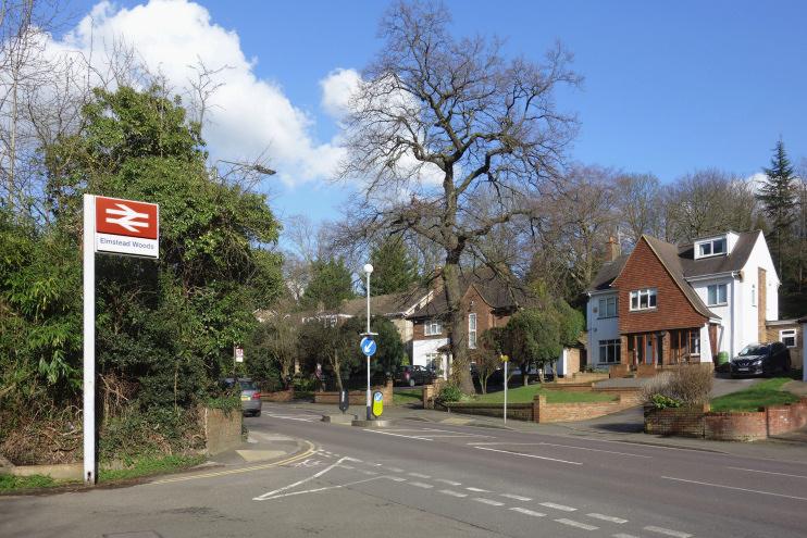Hidden London: Elmstead Lane near the station by Des Blenkinsopp