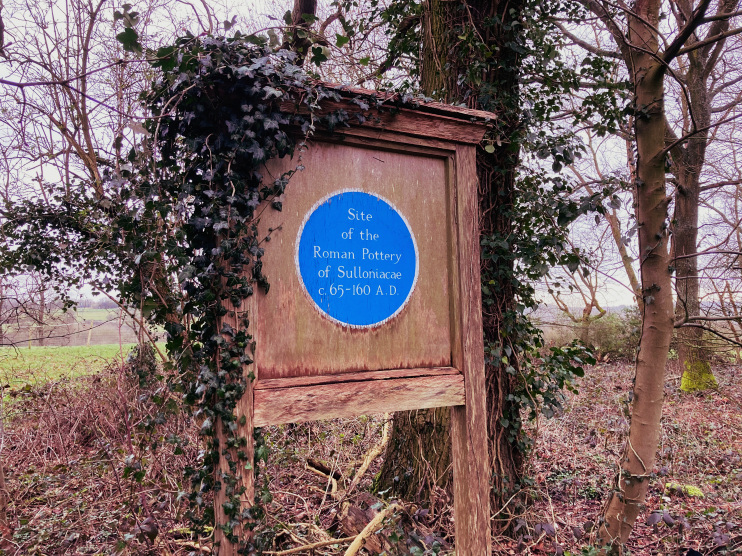 Hidden London: Plaque to Roman Sulloniacae, Brockley Hill, by Matt Brown