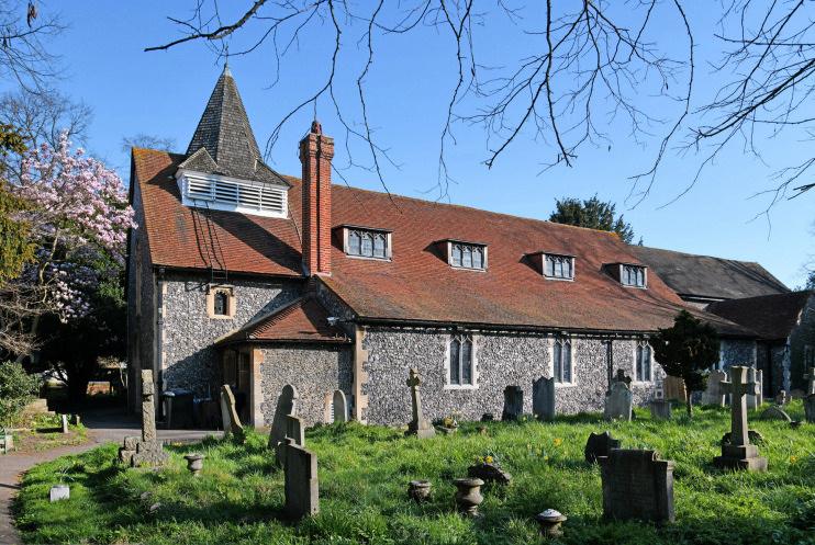 Hidden London: church of St Mary the Virgin, Merton Park