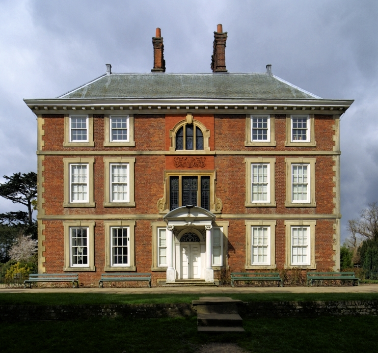Forty Hall, seen before its recent refurbishment, but the exterior hasn't changed much at all