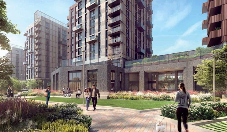 Blackhorse Mills build-to-rent scheme [developers' CGI]