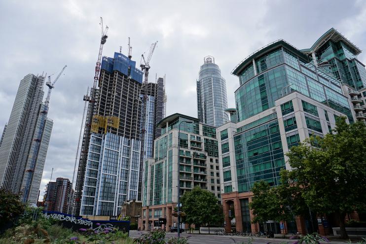 Hidden London: Vauxhall skyline, 29 August 2021